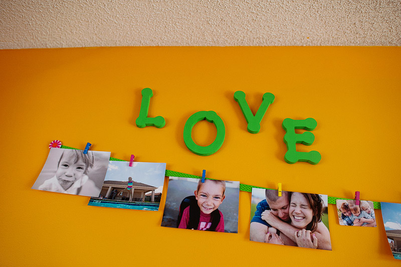 Solar family love wall. Pieces came from Target & Wal-Mart.