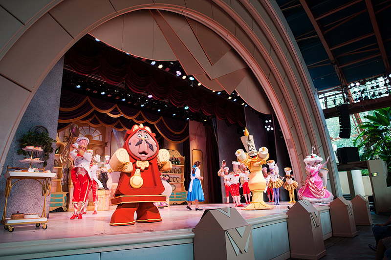 Beauty and the Beast live on stage at Disney's Hollywood Studios.