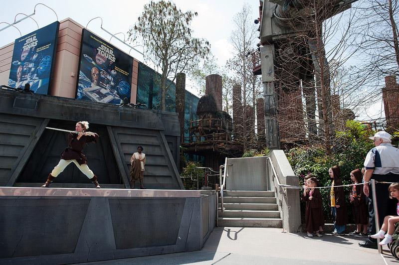 Jedi Training Academy at Hollywood Studios.