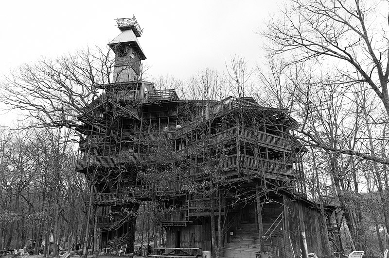 The ministers tree house in Crossville Tennessee.
