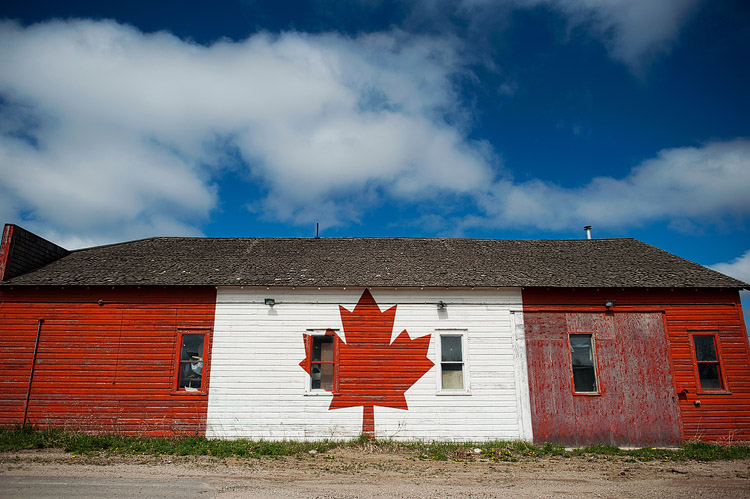 Canadian barn.