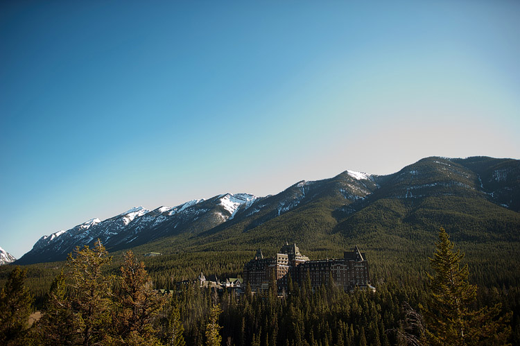 Castle in Banff.