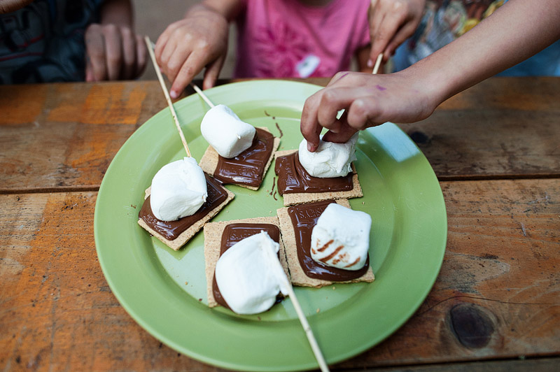 S'mores.