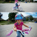 Lia and her Princess Bike
