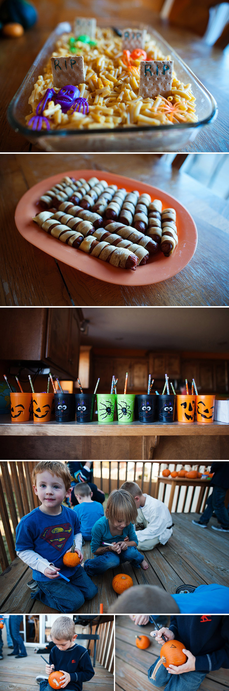 fun halloween themed foods mummy dogs