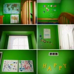 Kids rooms {messy and randomly decorated}