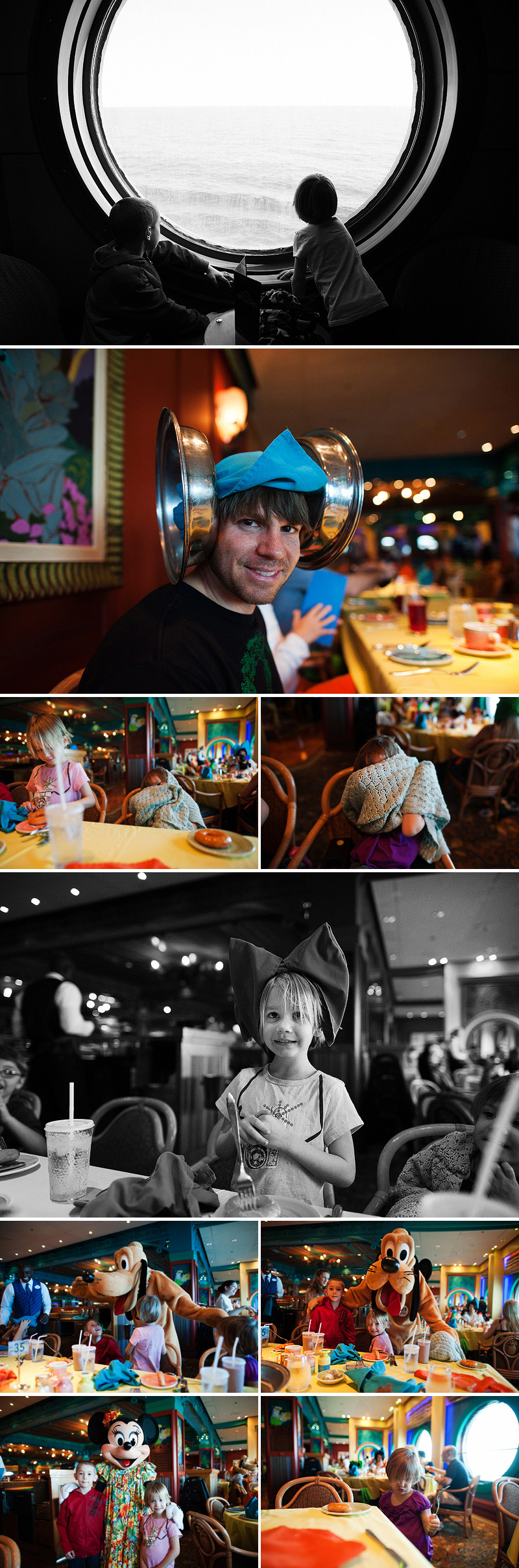 character breakfast on a disney cruise