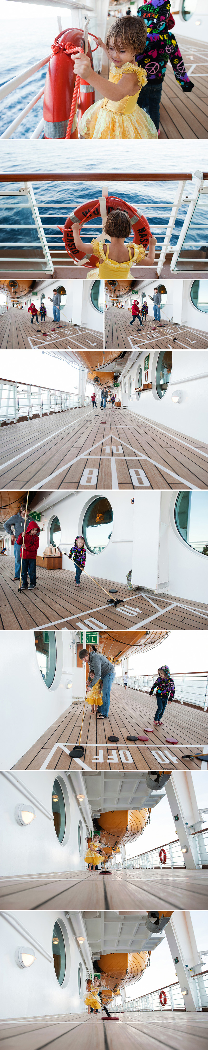 deck games and shuffleboard on disney cruise