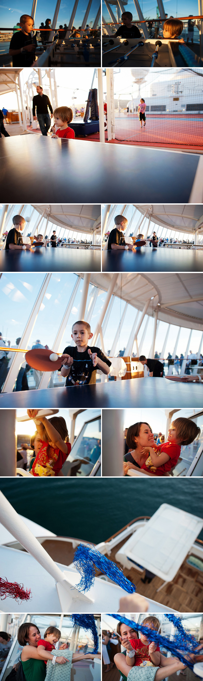 fun games and setting sail on board a disney cruise