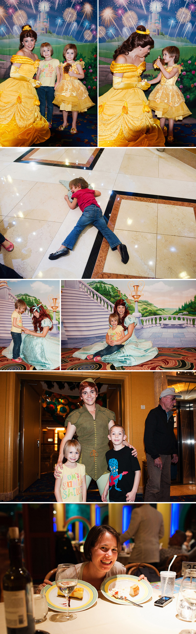 princesses fits and dessert aboard disney cruise line