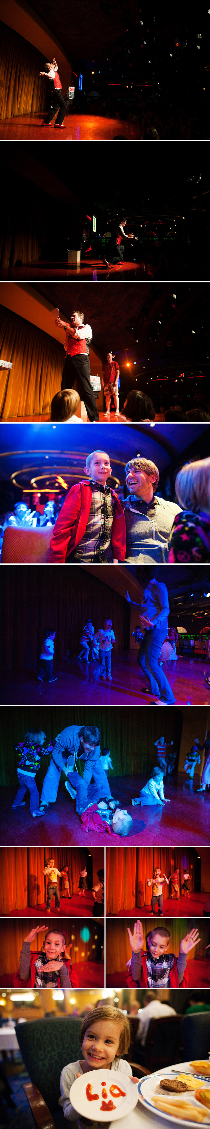dinner and dancing aboard the mexican riviera disney cruise