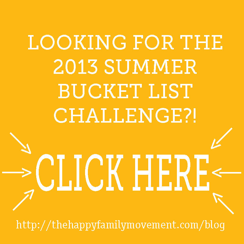 2013 summer bucket list challenge click here