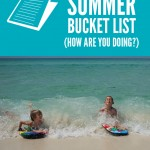 Boogie Boarding {summer bucket list}