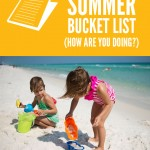 Sandcastles {summer bucket list}