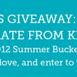 Summer Bucket List Challenge – 5/23/12 Giveaway
