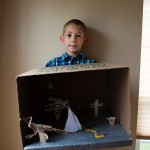 Max's First Grade Project – The Animal Diorama