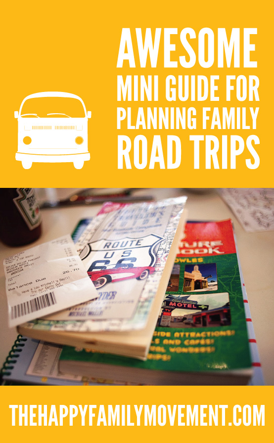 mini guide for planning family road trips