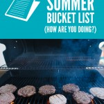BBQ with Friends {summer bucket list}