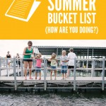 Feed the fish {summer bucket list}