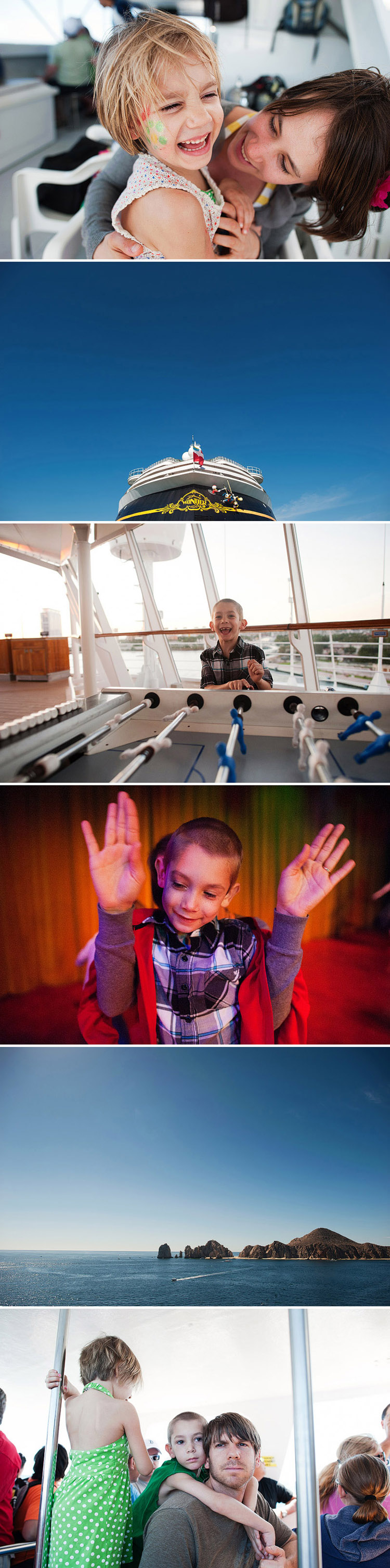 Fun on board the Mexican Riviera Disney Cruise.