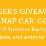 Summer Bucket List Challenge – Week 10 Giveaway