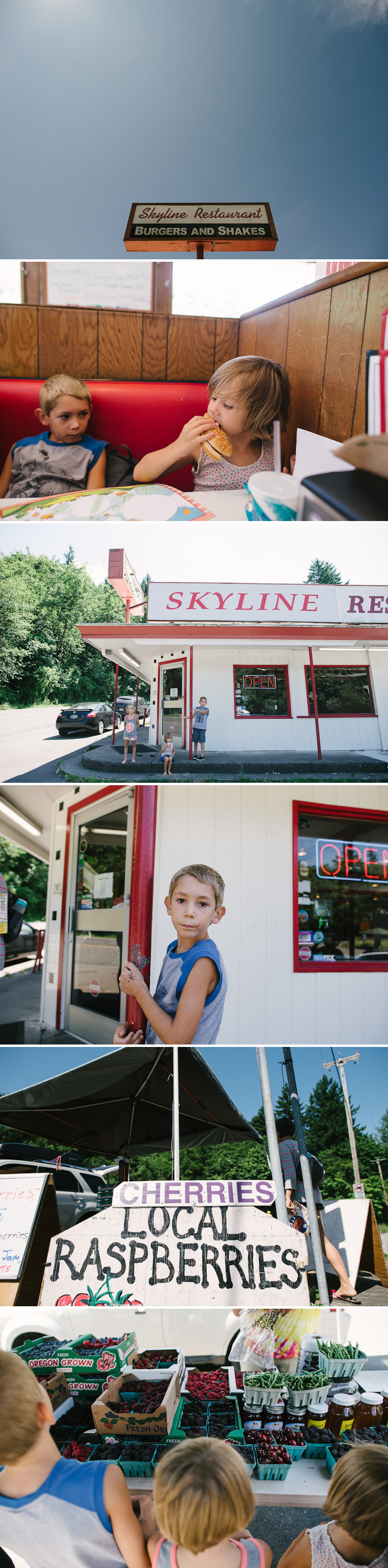 awesome food at the skyline restaurant in portland