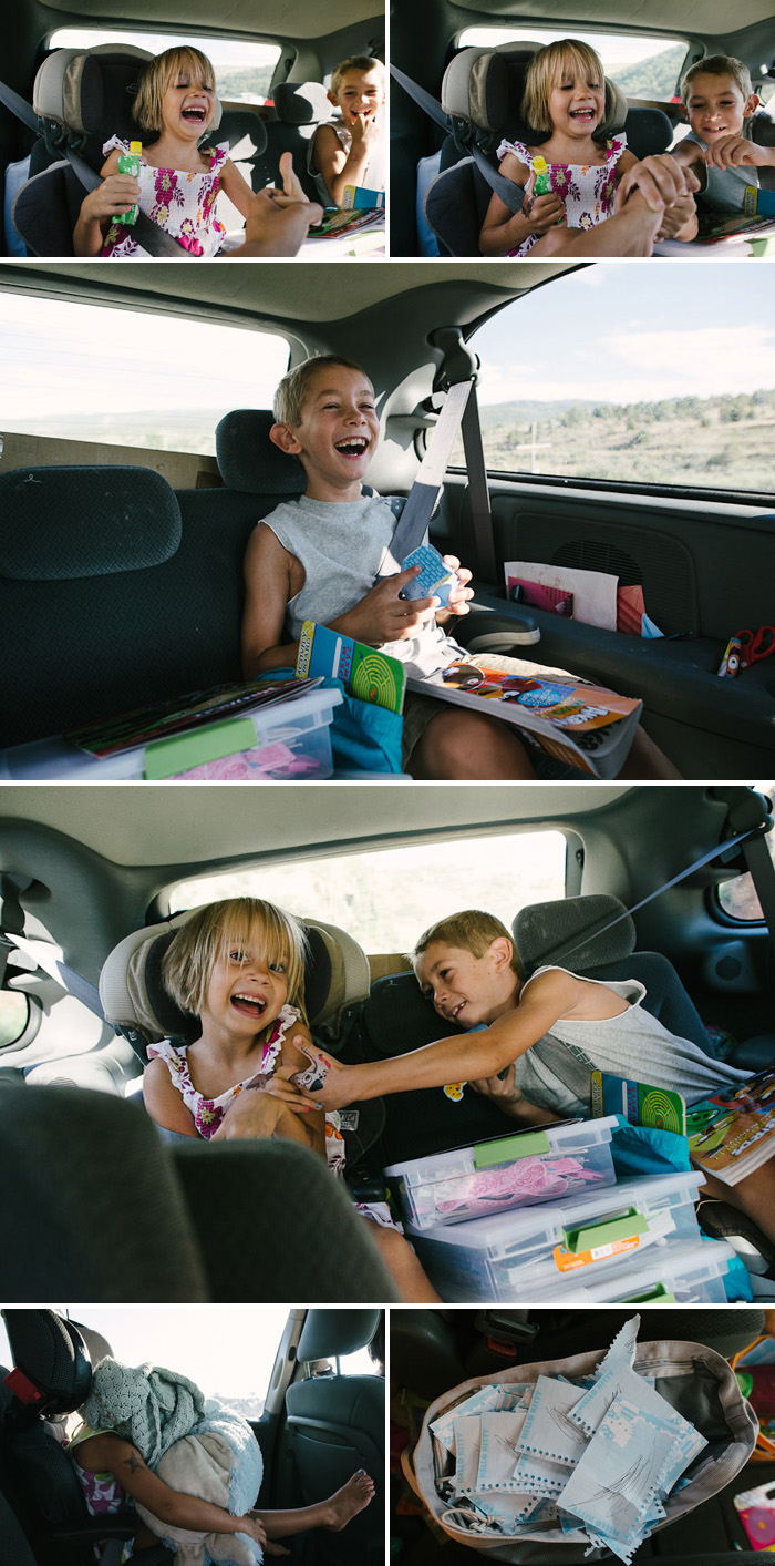 fun in the car family road trip inspiration