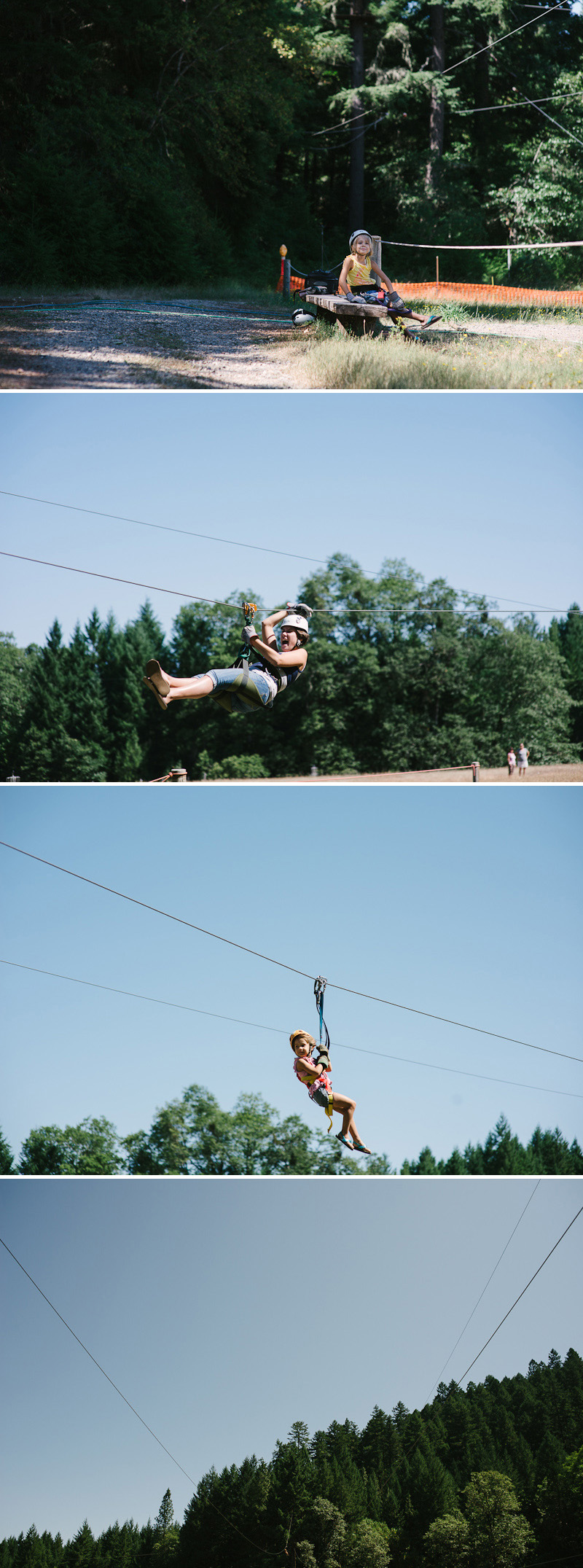 family ziplining in oregon