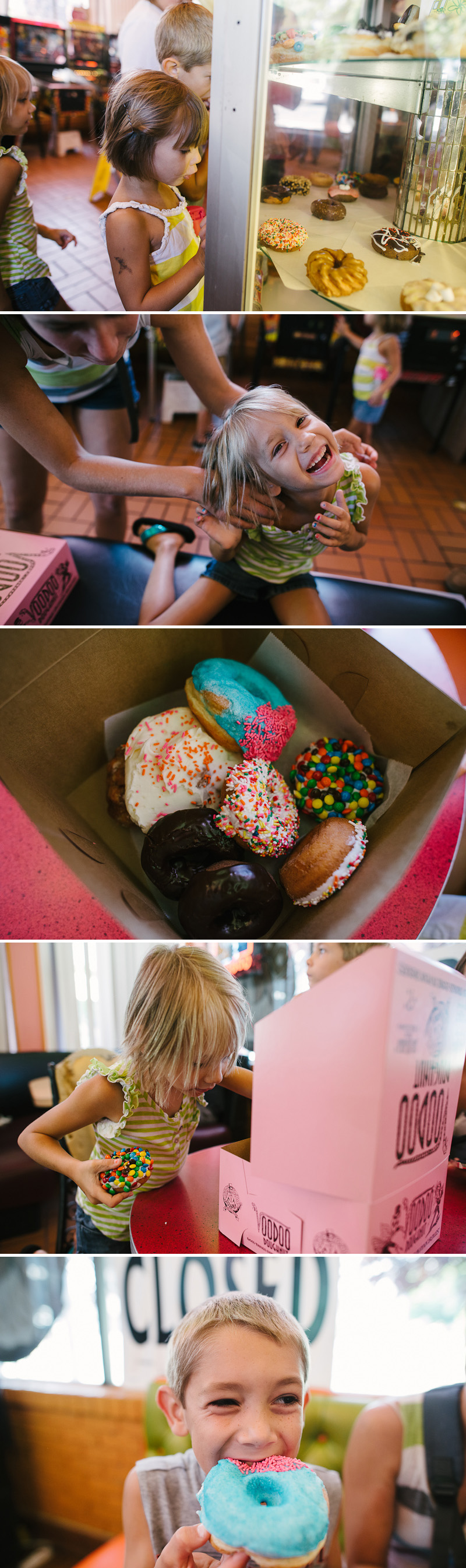 Voodoo donuts in Portland, Oregon.