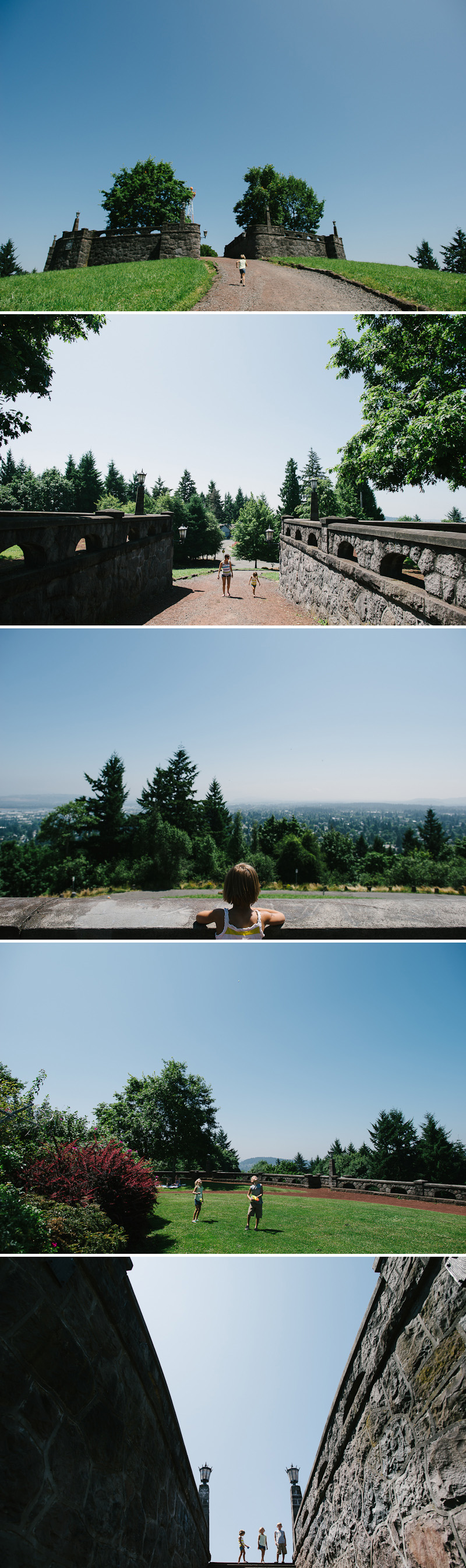 Fun up on Rocky Butte in Portland.