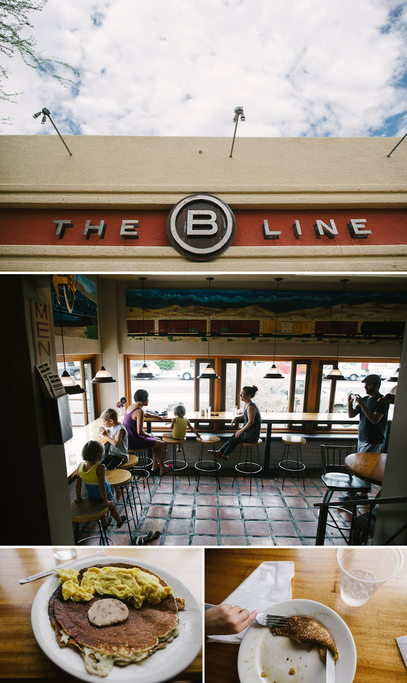 the b line restaurant crepe pancakes tucson arizona