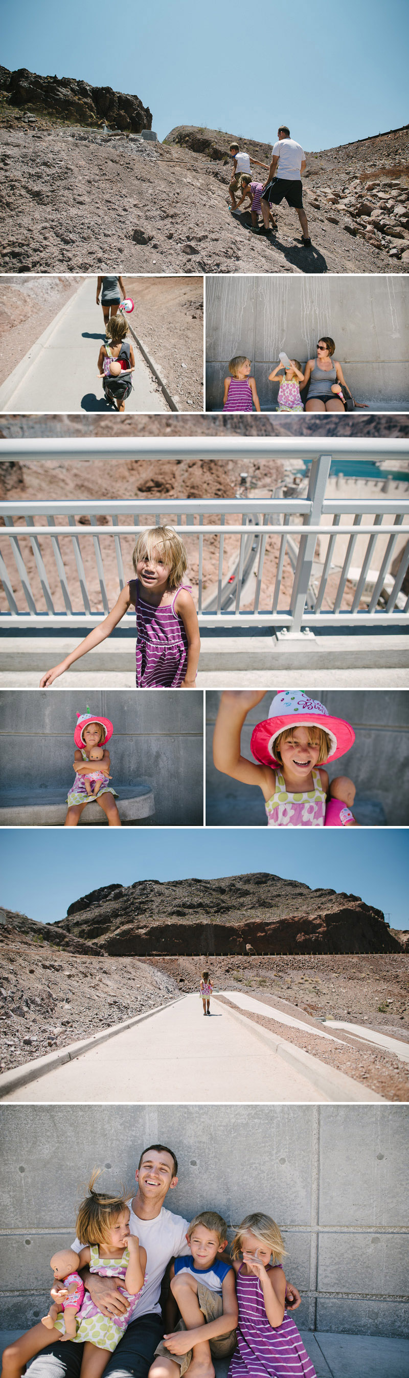 family trip to the hoover dam road trip