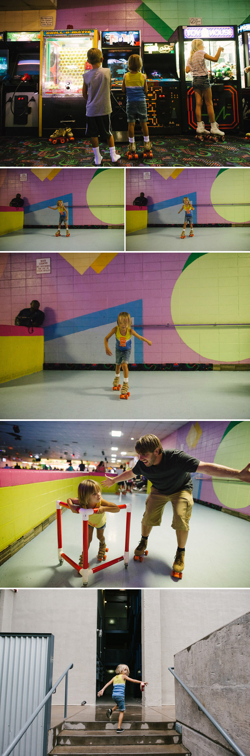 family roller skating in tucson arizona