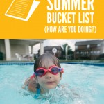 Swimming {summer bucket list}