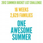 Goodbye Summer! {the end of the Summer Bucket List Challenge}