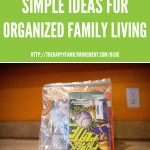 Simple Ideas for Organized Family Living – Library Book Saver