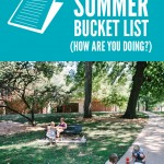 Picnic in the Park {summer bucket list}