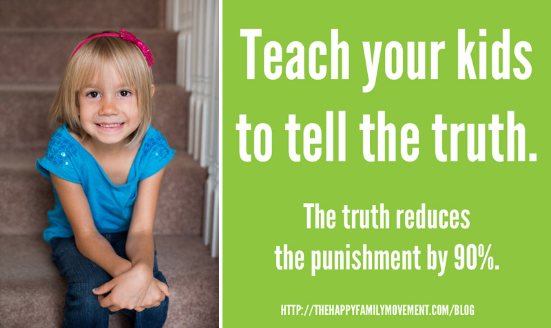teach kids to tell the truth