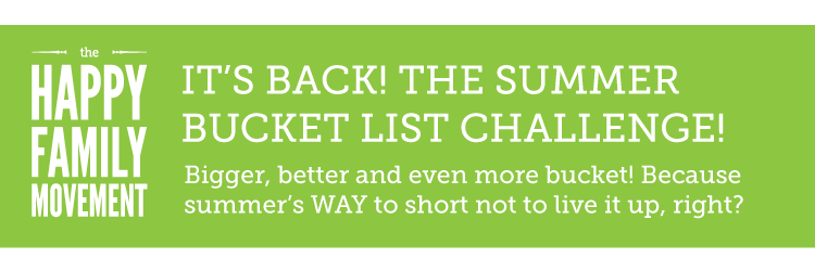 the 2013 Summer Bucket List Challenge starts May 20th! Sign up now!!