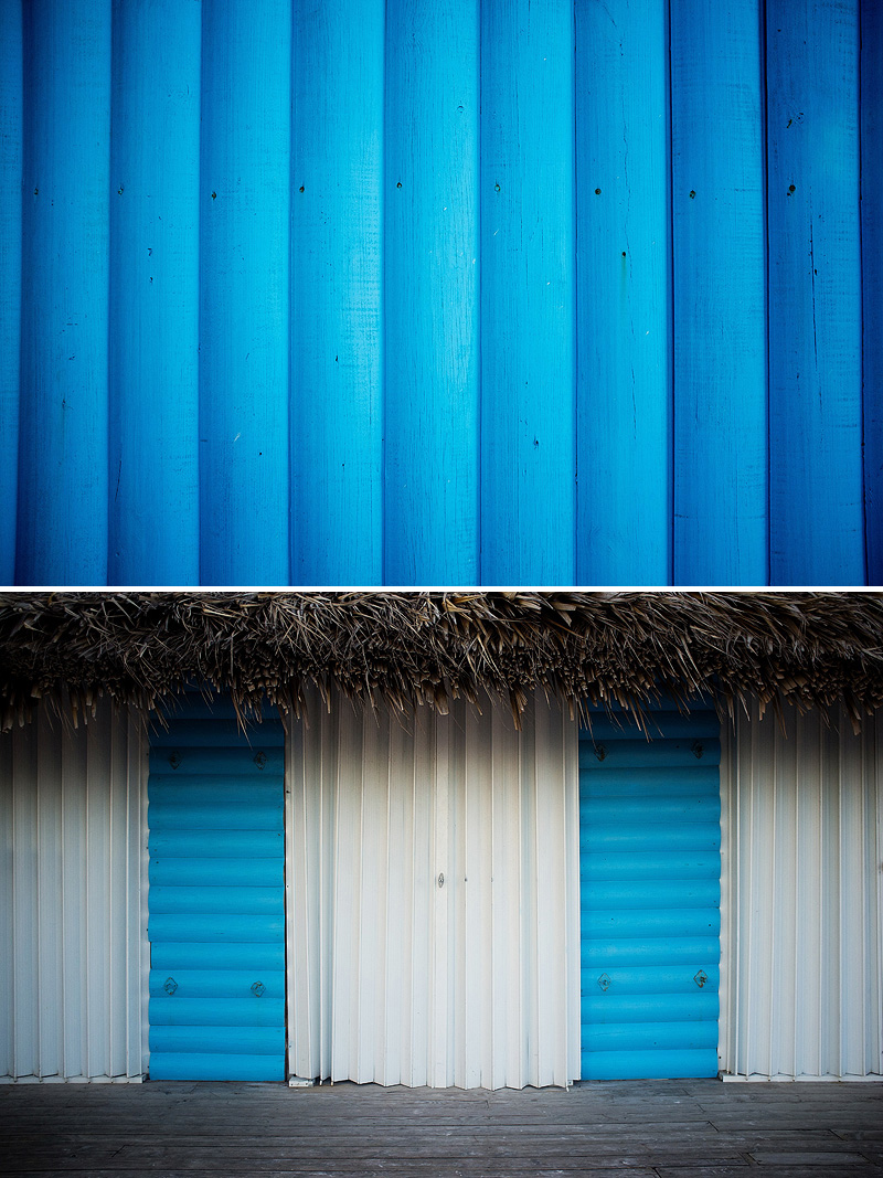 Bright colors in Punta Cana.