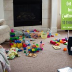 Getting kids to clean up {without whining!}