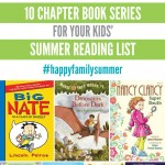 10 Chapter Book Series for your kids' summer reading list