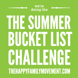 summer bucket list challenge blog badge