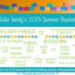 The 2013 Summer Bucket List Challenge is here!