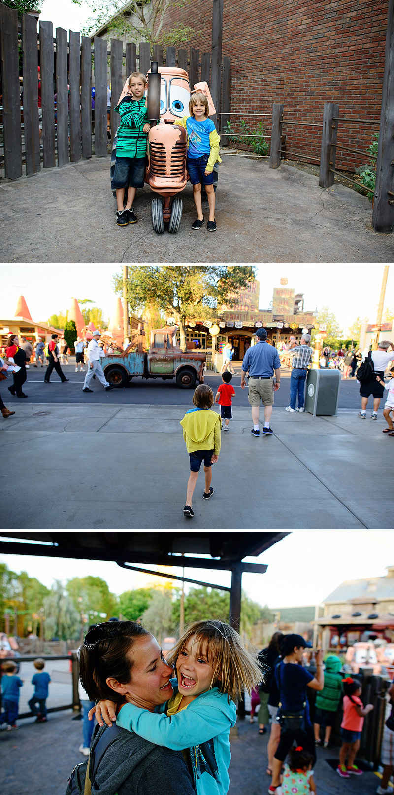 family trip to disneyland