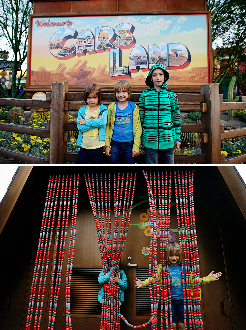 fun photos at cars land