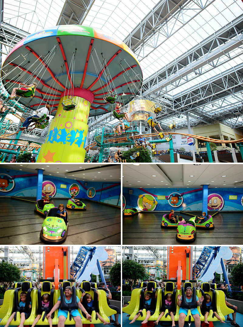 family trip to mall of america nickelodeon universe