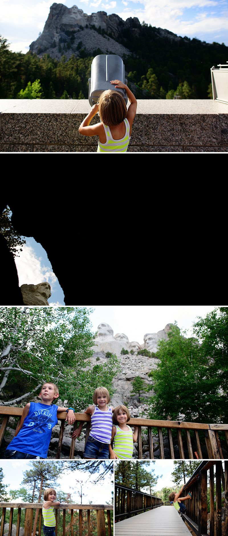 summer vacation to mount rushmore