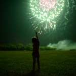 Family Traditions – Fireworks in the Park