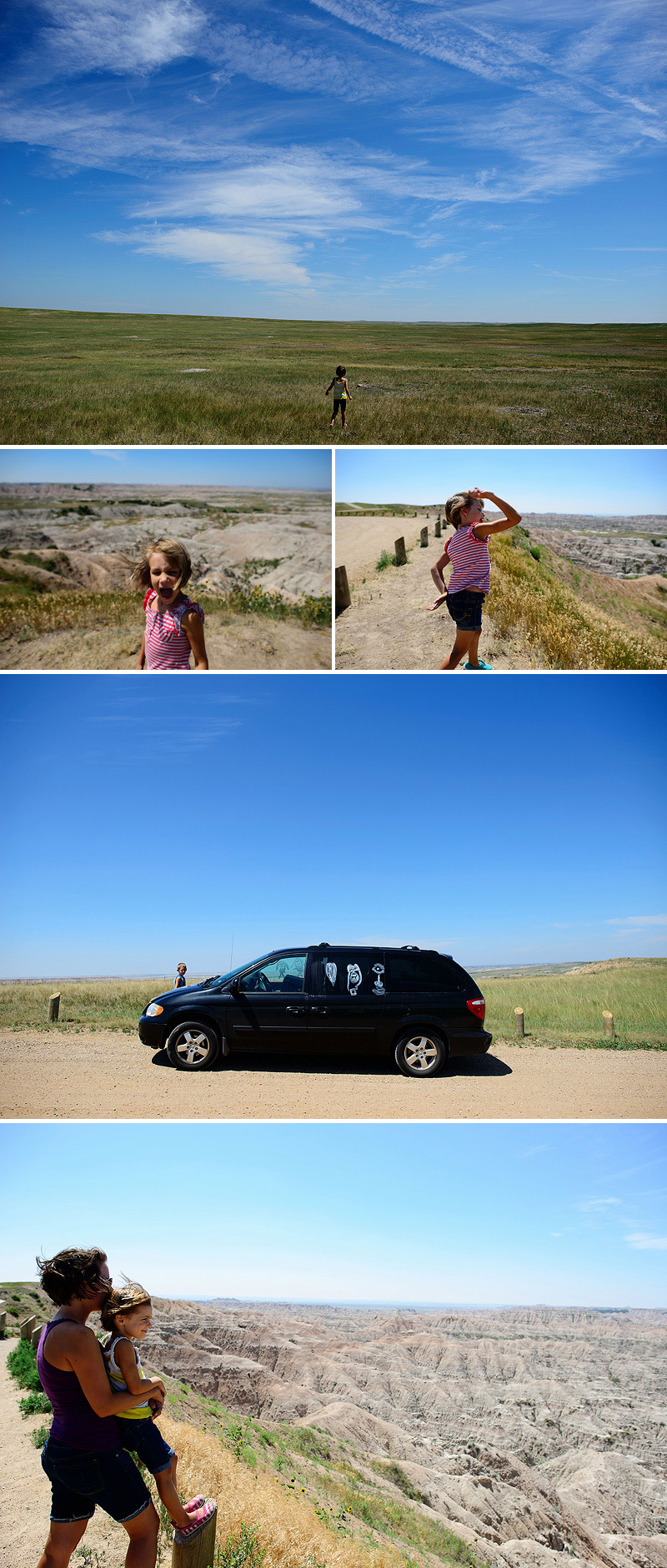 summer vacation to badlands